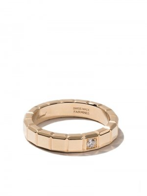 Золотое кольцо Ice Cube с бриллиантами Chopard. Цвет: fairmined желтый