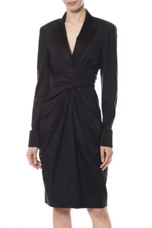 Платье Donna Karan. Цвет: черный