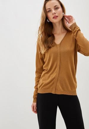 Пуловер Sisley. Цвет: коричневый