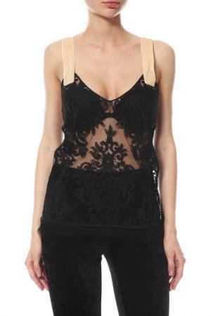 Блуза-топ N°21. Цвет: черный