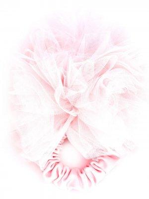 Резинка для волос из тюля Styland. Цвет: розовый