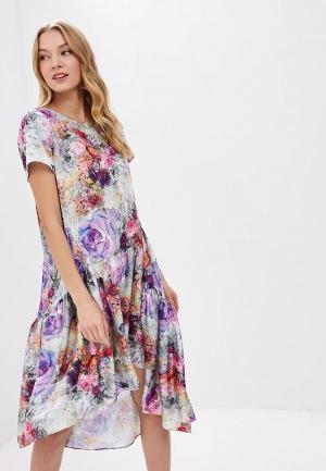 Платье MadaM T. Цвет: разноцветный