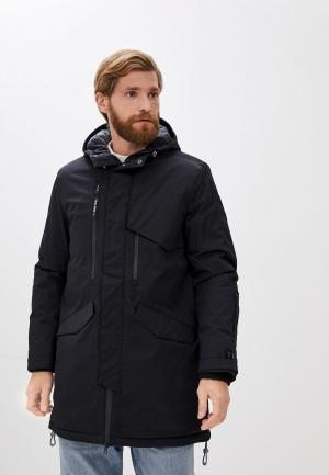 Куртка утепленная Trailhead. Цвет: черный