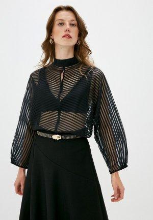 Блуза Brian Dales. Цвет: черный