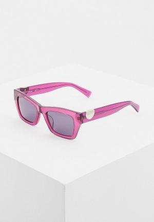Очки солнцезащитные Max&Co. Цвет: розовый