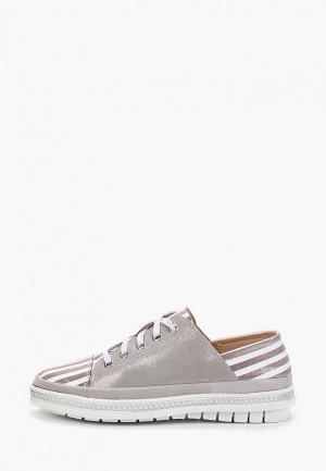 Ботинки Der Spur. Цвет: серый