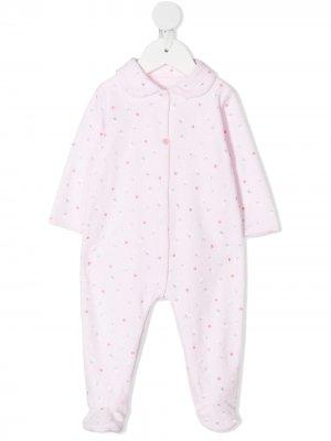 Пижама с цветочным принтом Absorba. Цвет: розовый