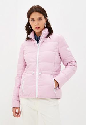 Пуховик Michael Kors. Цвет: розовый