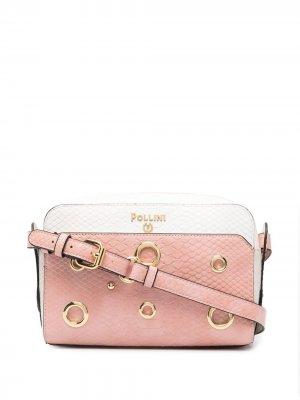 Сумка через плечо Pollini. Цвет: розовый