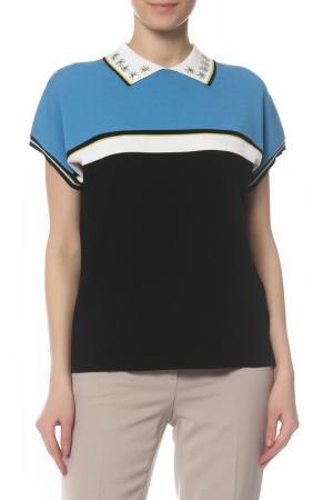Блуза Laurel. Цвет: черный