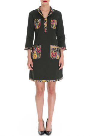 Платье Almatrichi. Цвет: green