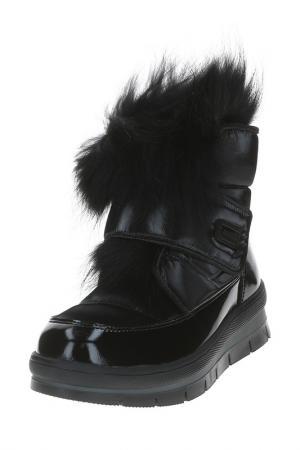 Ботинки JOG DOG. Цвет: черный флэш