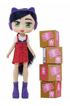 Кукла  Riley Boxy Girls. Цвет: красный