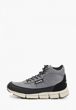 Ботинки Diadora. Цвет: серый