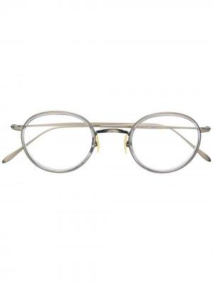 Круглые очки RAY-BAN JUNIOR. Цвет: серебристый