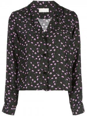 Пижамный топ Carnation Fleur Du Mal. Цвет: черный