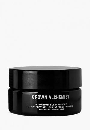 Маска для лица Grown Alchemist. Цвет: черный
