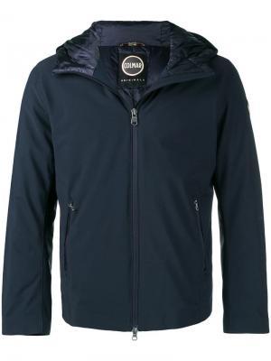 Куртка на молнии с капюшоном Colmar. Цвет: синий