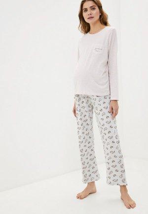 Пижама Dorothy Perkins Maternity. Цвет: разноцветный
