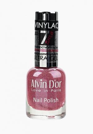 Лак для ногтей Alvin Dor D'or. Цвет: розовый