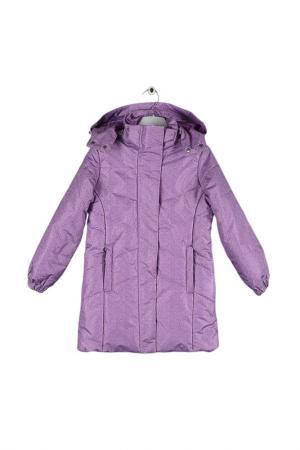 Пальто GERDAKAY. Цвет: фиолетовый