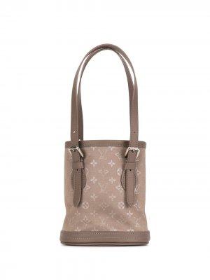 Сумка-ведро 2001-го года Louis Vuitton. Цвет: коричневый