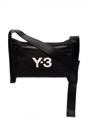 Сумка на плечо CH3 Sacoche Y-3. Цвет: черный