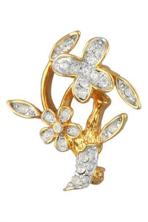 Брошь Inesse M. Цвет: золотой