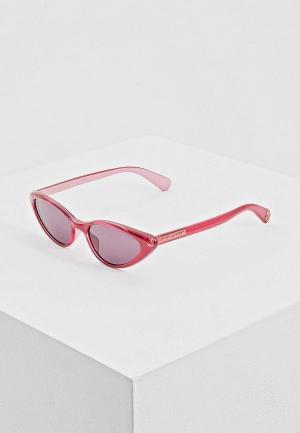 Очки солнцезащитные Marc Jacobs. Цвет: розовый
