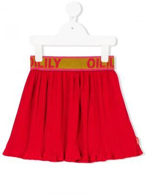 Юбка с логотипом Oilily. Цвет: красный