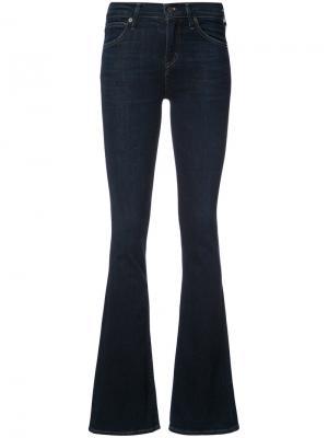 Расклешенные джинсы Citizens Of Humanity. Цвет: синий
