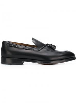 Tassel detail loafers Doucal's. Цвет: черный