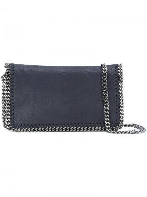 Мини-сумка через плечо Falabella Stella McCartney. Цвет: синий