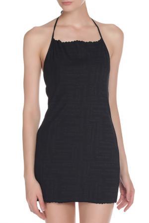 Платье-пляжное PATRIZIA PEPE BEACHWEAR. Цвет: черный
