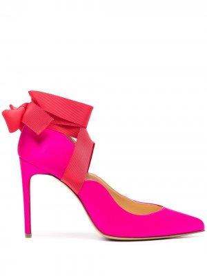 Туфли-лодочки Carine с заостренным носком Bionda Castana. Цвет: розовый