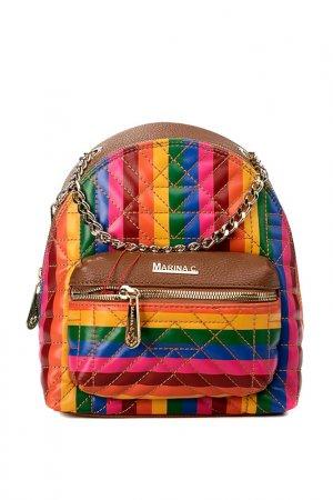 Сумка-рюкзак Marina Creazioni. Цвет: рыжий