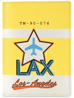 Обложка для паспорта Tila March. Цвет: желтый