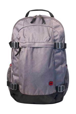 Рюкзак для ноутбука WENGER. Цвет: серый
