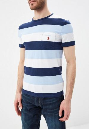 Футболка Polo Ralph Lauren. Цвет: синий