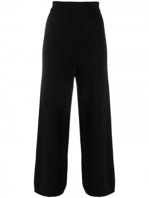 Расклешенные брюки с завышенной талией Opening Ceremony. Цвет: черный