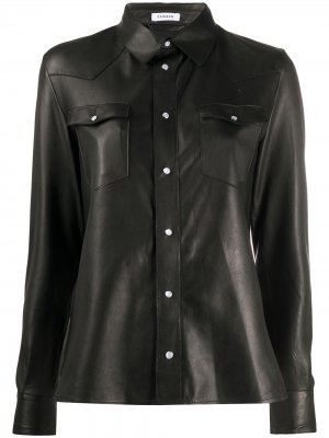 Рубашка на пуговицах P.A.R.O.S.H.. Цвет: черный