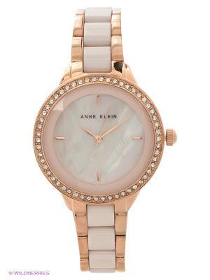 Часы ANNE KLEIN. Цвет: кремовый, золотистый