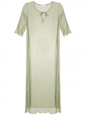 Пляжное платье Brigitte. Цвет: зеленый