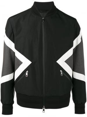 Куртка-бомбер Modernist Neil Barrett. Цвет: черный