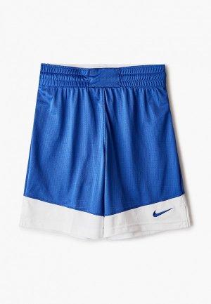 Шорты Nike. Цвет: синий
