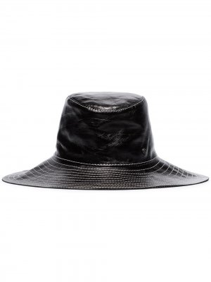 Шляпа Lauren Maison Michel. Цвет: черный