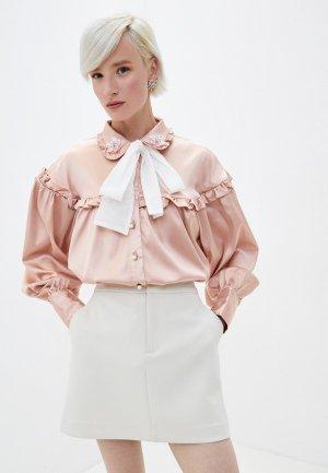 Блуза Sister Jane. Цвет: розовый
