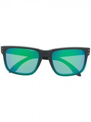 Солнцезащитные очки Holbrook Oakley. Цвет: зеленый