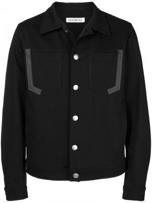 Куртка с нагрудными карманами Dirk Bikkembergs. Цвет: черный