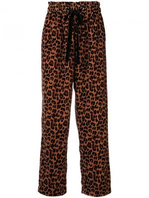 Gart straight-leg trousers Antik Batik. Цвет: коричневый